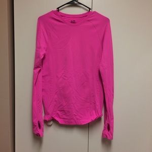 Champion Semi-fitted Neon Pink Top Size Medium